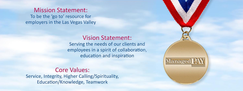 Mission Statement Vision Statement Core Values